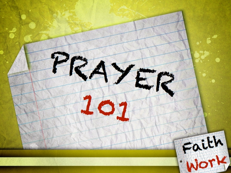 PRAYER #1