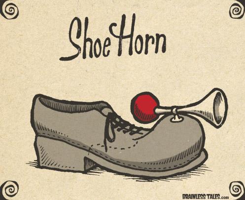 shoe-horn
