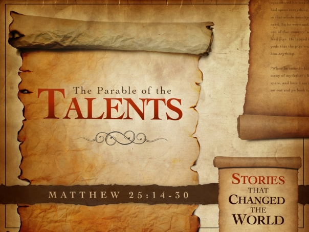 Parable Of The Sower Quotes With Page Numbers: 5) THE PARABLE OF THE TALENTS